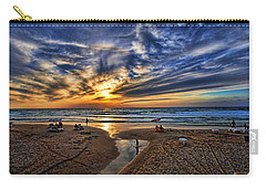 Carry-all Pouch featuring the photograph Israel Sweet Child In Time by Ron Shoshani