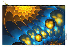 Carry-all Pouch featuring the digital art It Is Time by Anastasiya Malakhova