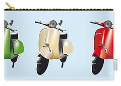 Italian Flag Vespa Carry-all Pouch