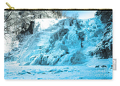 Ithaca Falls In Winter Carry-all Pouch