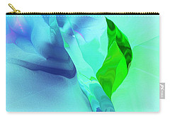 Carry-all Pouch featuring the digital art It's A Mystery  by David Lane