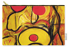 Carry-all Pouch featuring the painting It's All Relative by Stephen Lucas