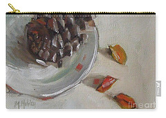 Pine Cone Still Life On A Plate Carry-all Pouch
