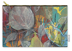 Carry-all Pouch featuring the painting It's Electric by Robin Maria Pedrero