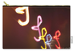 Carry-all Pouch featuring the photograph It's I... I... And More Of I. Dancing Lights Series by Ausra Huntington nee Paulauskaite