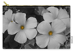 Carry-all Pouch featuring the photograph Its Not All Black And White by Janice Westerberg