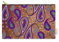 It's Raining Paisley Series 1 Carry-all Pouch