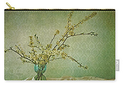 Flowering Plant Carry-All Pouches