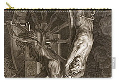 Ixion In Tartarus On The Wheel, 1731 Carry-all Pouch by Bernard Picart