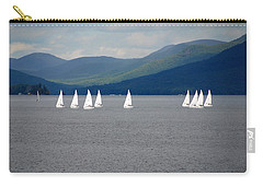 Carry-all Pouch featuring the photograph J Boats Lake George N Y by John Schneider