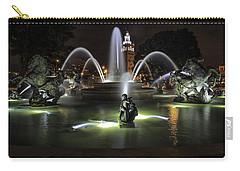 J C Nichols Fountain Carry-all Pouch by Lynn Sprowl