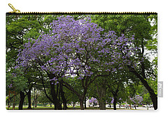 Jacaranda In The Park Carry-all Pouch