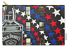 Carry-all Pouch featuring the photograph Jack Daniel's Wall Art by Joan Reese
