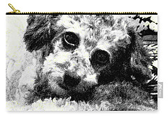 Carry-all Pouch featuring the photograph Jack by Lenore Senior