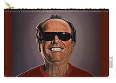 Jack Nicholson 2 Carry-all Pouch by Paul Meijering
