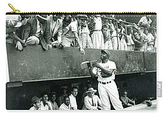 Jackie Robinson Signs Autographs Vintage Baseball Carry-all Pouch