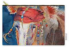 Jack Burro -  Donkey Carry-all Pouch by Deb  Harclerode