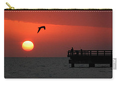 Jacks Sunrise Carry-all Pouch by Leticia Latocki