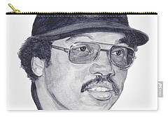 Carry-all Pouch featuring the painting Jackson by Tamir Barkan