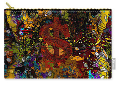 Jackson Warhol Me Carry-all Pouch by Carol Jacobs