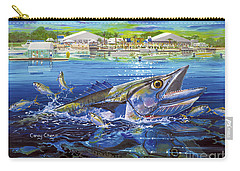 Jacksonville Kingfish Off0088 Carry-all Pouch by Carey Chen