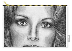 Jaclyn Smith In 1976 Carry-all Pouch by J McCombie