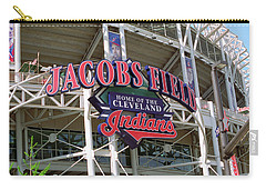 Jacobs Field - Cleveland Indians Carry-all Pouch by Frank Romeo