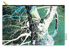 Carry-all Pouch featuring the photograph Jade Forest by Shawna Rowe