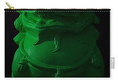 Carry-all Pouch featuring the digital art Jade... by Tim Fillingim