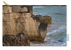 Jagged Shore Carry-all Pouch