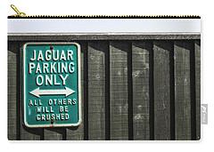 Jaguar Car Park Carry-all Pouch