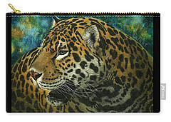 Jaguar Carry-all Pouch by Sandra LaFaut