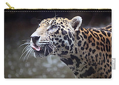 Jaguar Sticking Out Tongue Carry-all Pouch