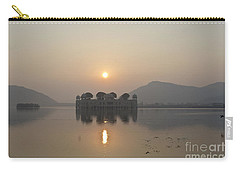 Jal Mahal In Sunrise Carry-all Pouch