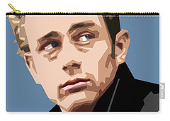 James Dean In Color Carry-all Pouch