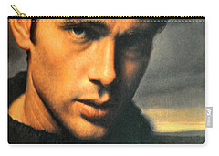 James Dean Carry-all Pouch by Jay Milo
