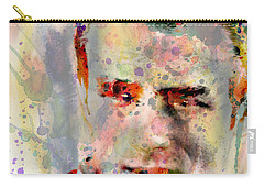 James Dean Carry-all Pouch by Mark Ashkenazi
