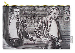 James Dean Meets The Fonz Carry-all Pouch