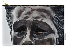 Carry-all Pouch featuring the photograph James Dean The Rebel by Kyle Hanson