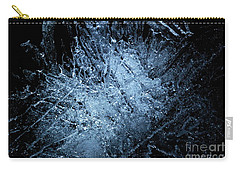Carry-all Pouch featuring the photograph jammer Frozen Cosmos by First Star Art
