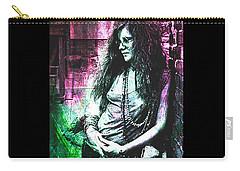 Janis Joplin - Pink Carry-all Pouch