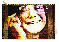 Janis Joplin - Upclose Carry-all Pouch