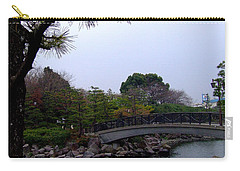 Carry-all Pouch featuring the photograph Japan by Andrea Anderegg