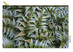 Carry-all Pouch featuring the photograph Japanese Ferns by Kathryn Meyer