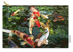 Japanese Koi Fish Pond Carry-all Pouch