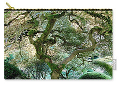 Japanese Maple Tree II Carry-all Pouch by Athena Mckinzie