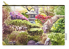 San Francisco Golden Gate Park Japanese Tea Garden  Carry-all Pouch