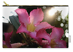 Carry-all Pouch featuring the photograph Jardin Du Matin by Miguel Winterpacht
