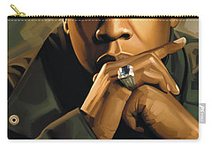Jay-z Artwork 2 Carry-all Pouch by Sheraz A