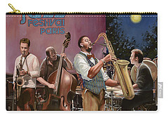 jazz festival in Paris Carry-all Pouch